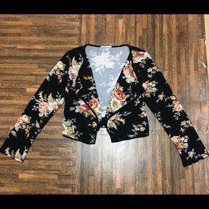 Jackets & Blazers - FLORAL BLAZER